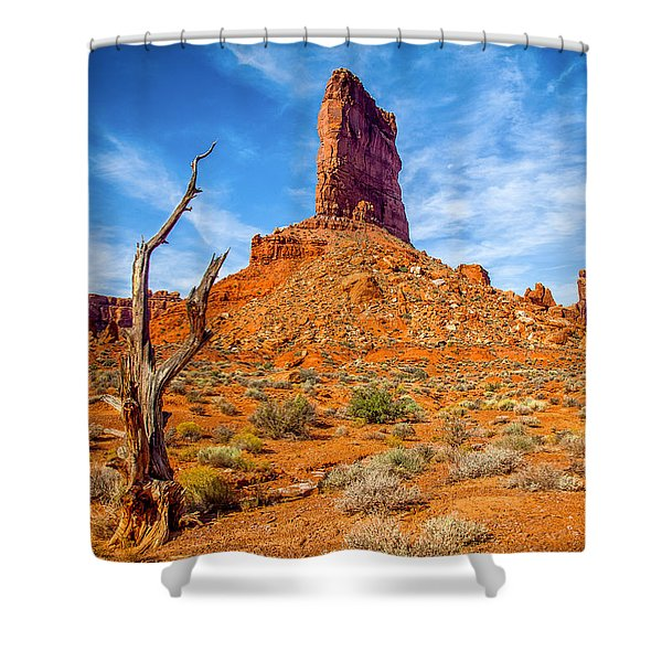 Valley Of The Gods Shower Curtain