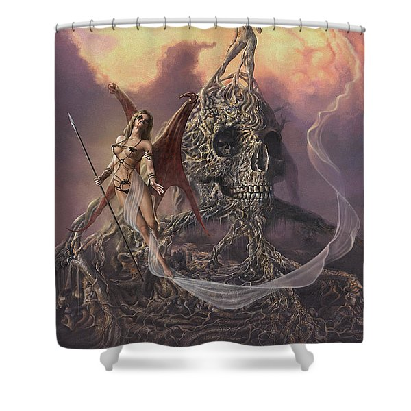 Vampis Lair Shower Curtain