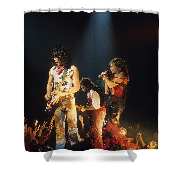 Van Halen 1984 Shower Curtain