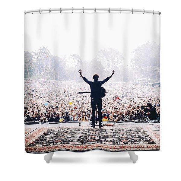 Vance Joy - Outside Lands Shower Curtain