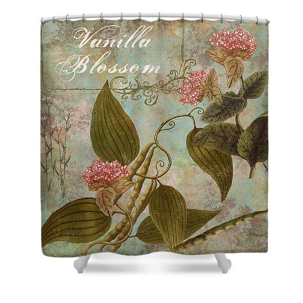 Vanilla Blossom Shower Curtain