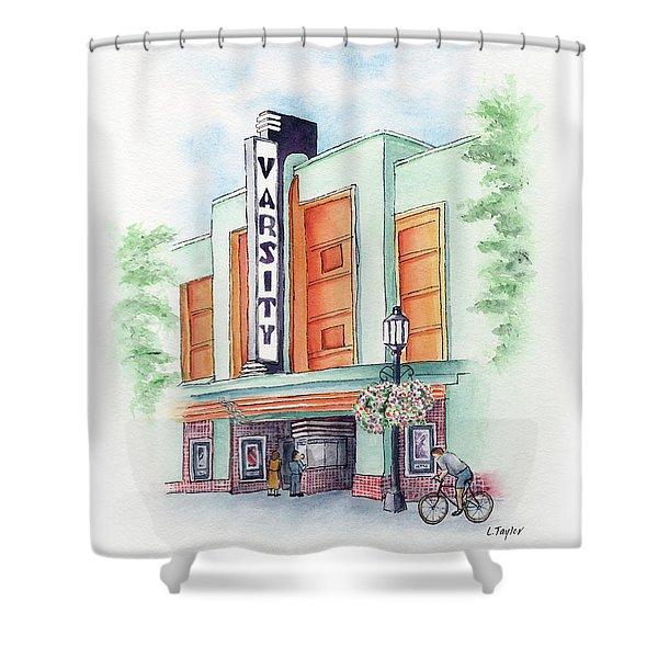 Varsity On Main Shower Curtain