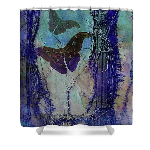 Vast Congeries Of Vital Forces II Shower Curtain