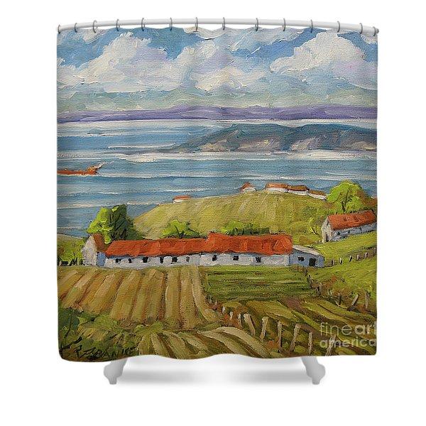 Vast Horizon Shower Curtain