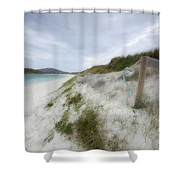 Vatersay Beach Shower Curtain