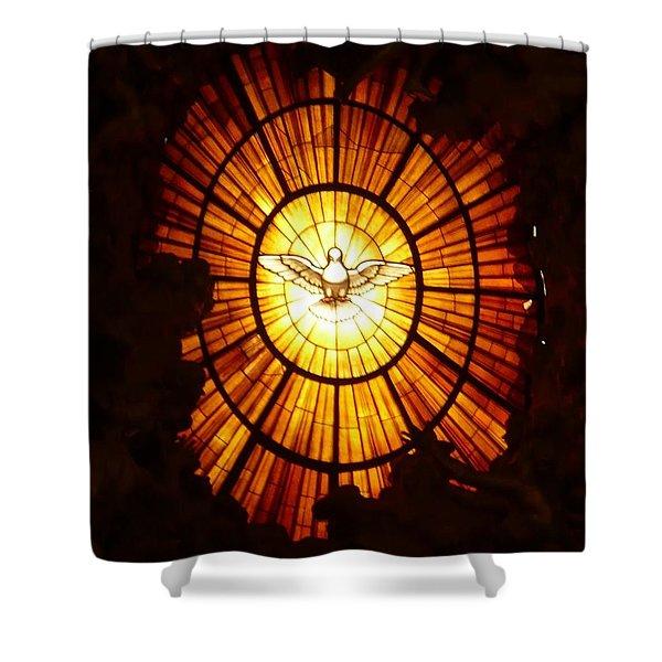 Vatican Window Shower Curtain