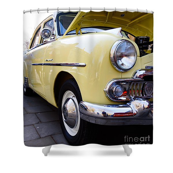 Vauxhall Velox Shower Curtain