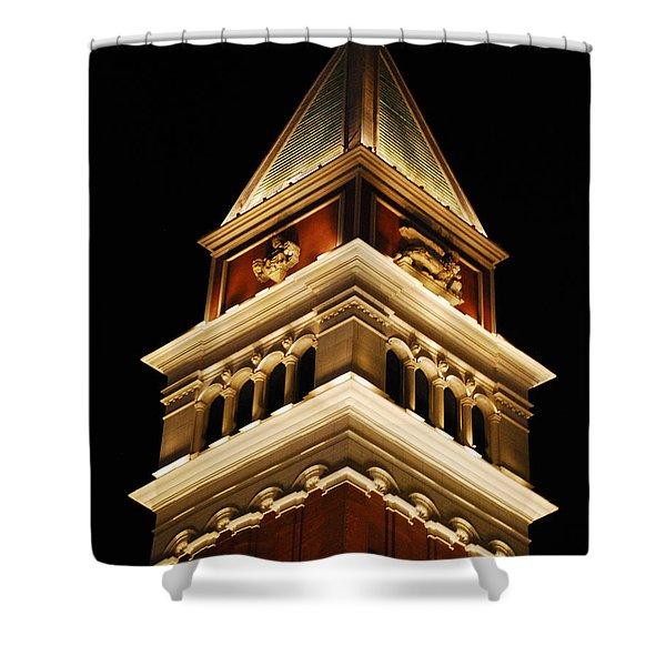 Vegas At Nite Shower Curtain