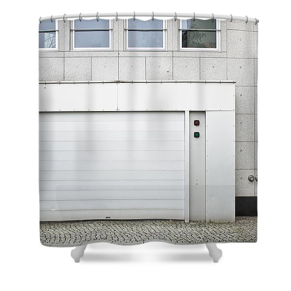 Vehicle Entry Door Shower Curtain
