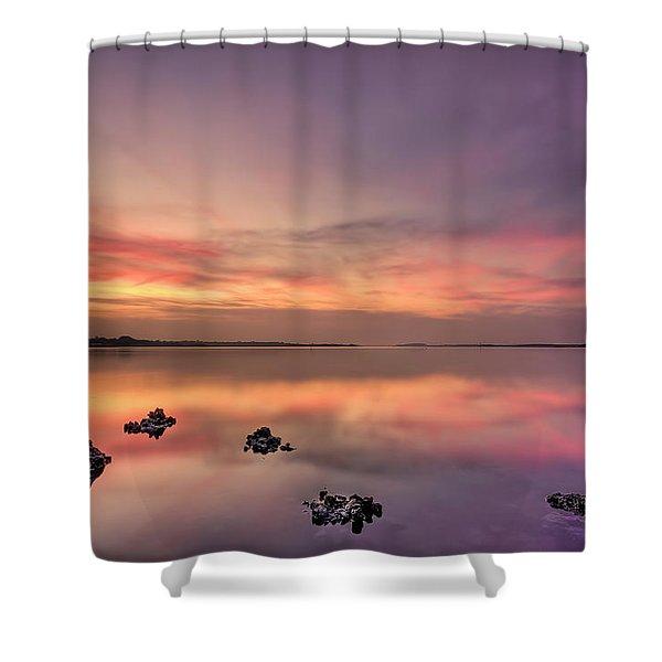 Velvet Morning Shower Curtain
