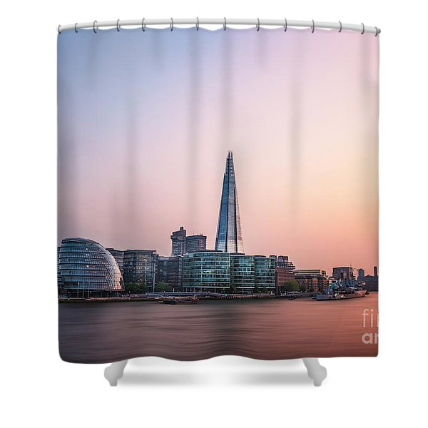 Velvet Silence Shower Curtain