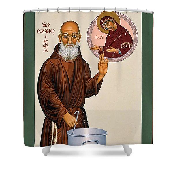 Venerable Fr. Solanus Casey The Healer 038 Shower Curtain