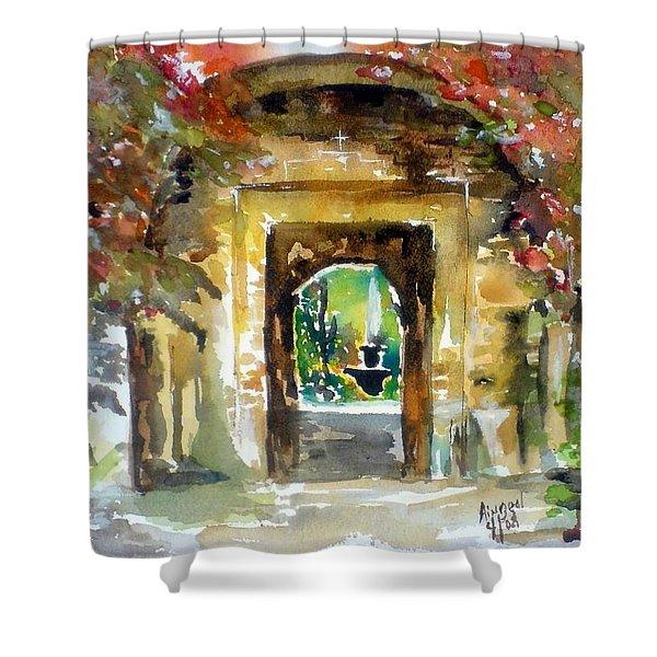 Venetian Gardens Shower Curtain