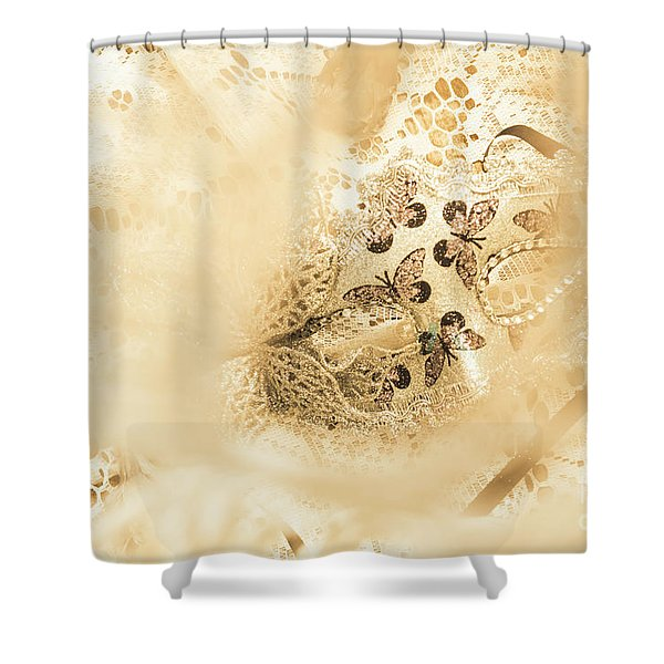 Venetian Performance Of Mystery Shower Curtain