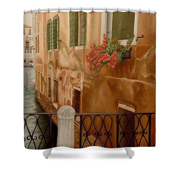 Venice In June Shower Curtain