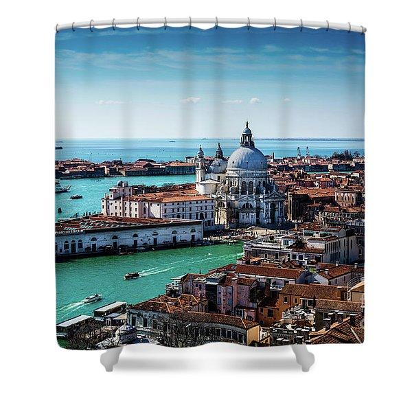 Eternal Venice Shower Curtain