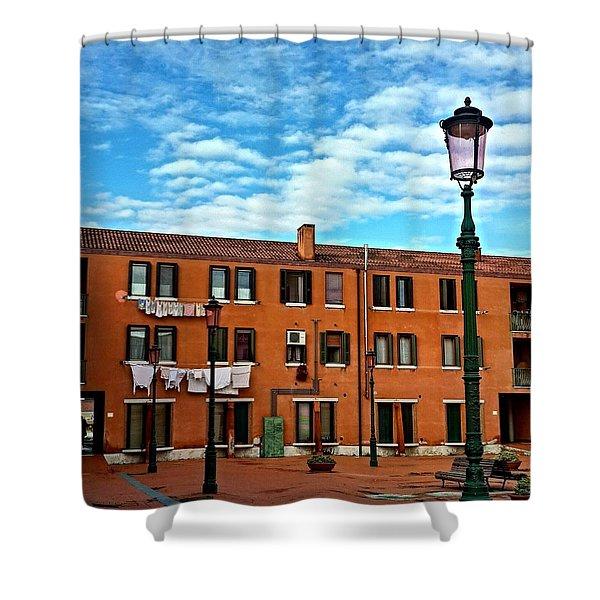 Venice Murano Shower Curtain