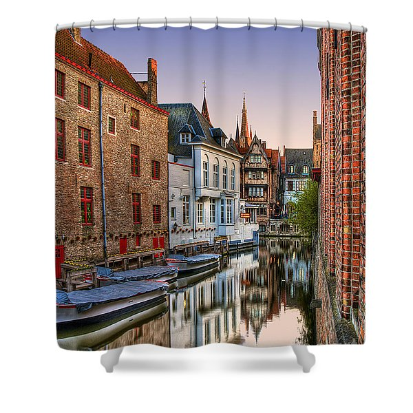 Venice Of The North Shower Curtain