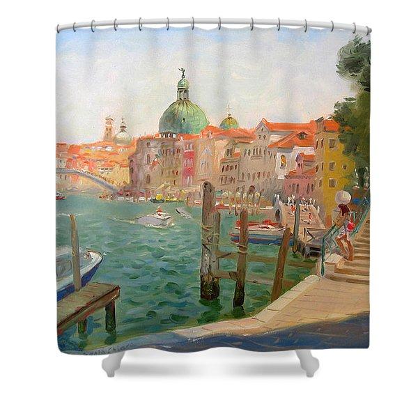 Venice Santa Chiara Shower Curtain