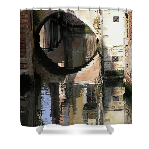 Venice01 Shower Curtain