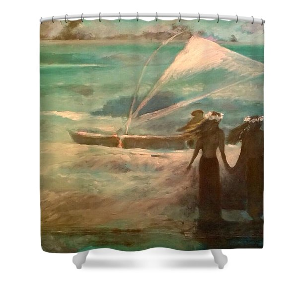 Vento Alle Hawaii Shower Curtain