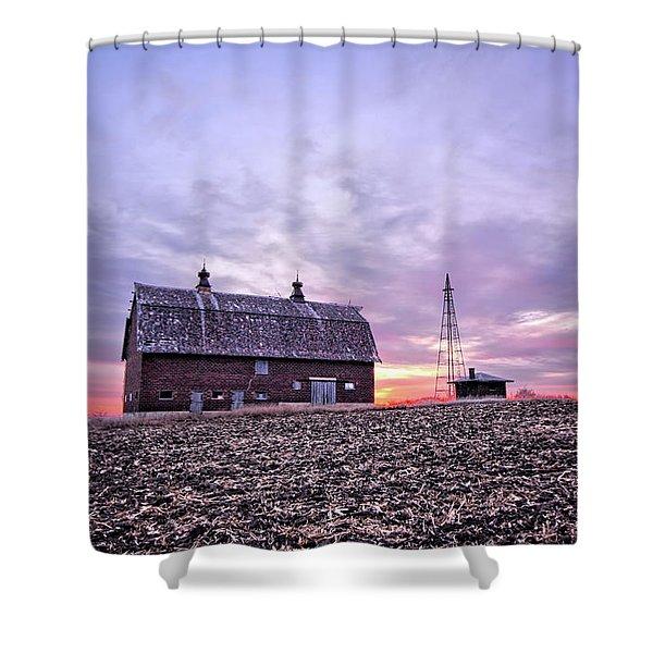 Ventura Barn Shower Curtain