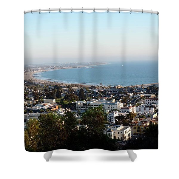 Ventura Coastline Shower Curtain