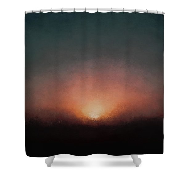 Venus Rising Shower Curtain