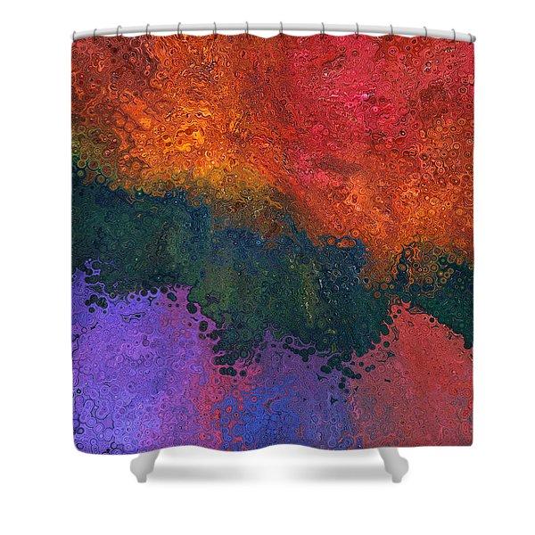 Verge 2 Shower Curtain