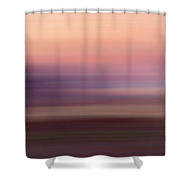Vermilion Cliff At Dusk Shower Curtain