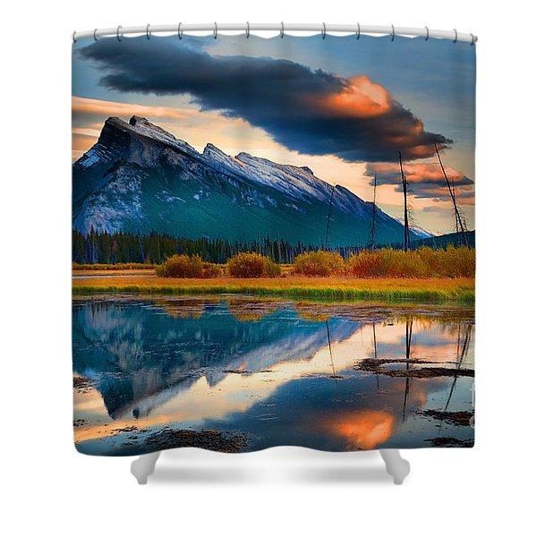 Vermillion Beauty Shower Curtain