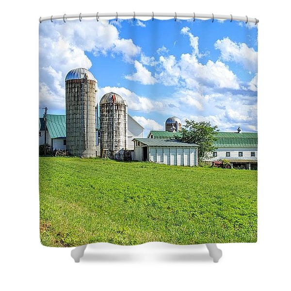 Vermont Farm Shower Curtain