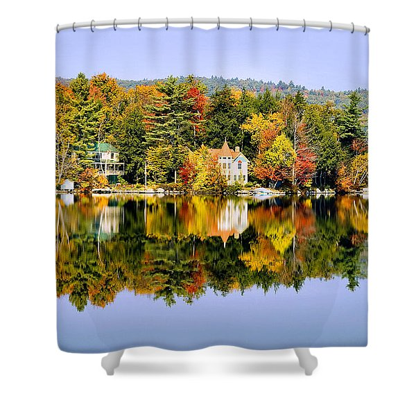 Vermont Reflections Shower Curtain