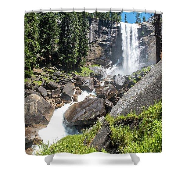 Vernal Falls- Shower Curtain