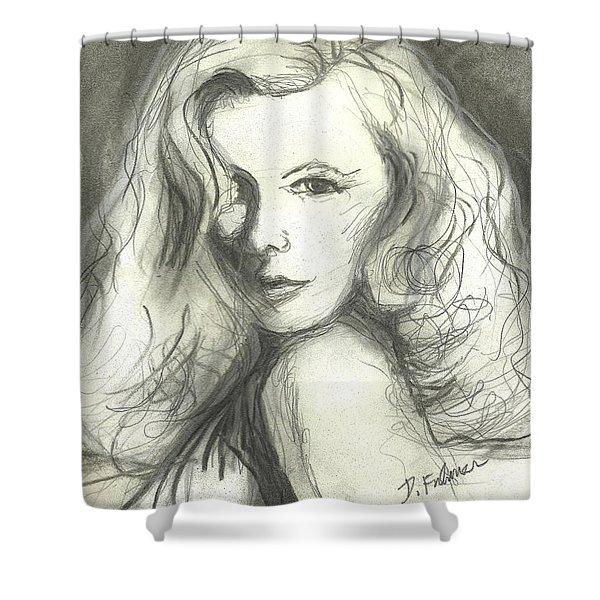 Veronica Lake Shower Curtain