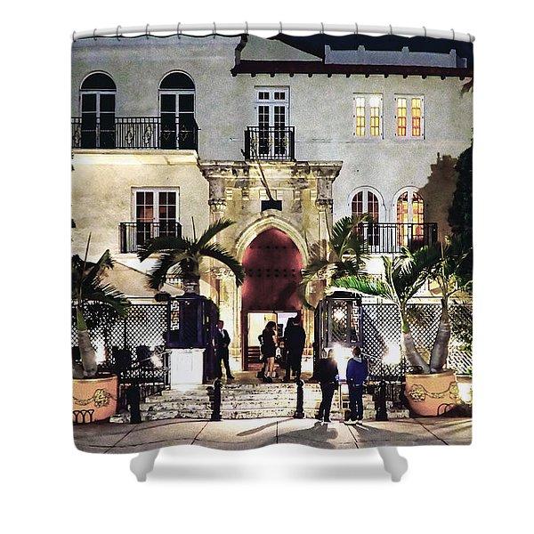 Versace Mansion South Beach Shower Curtain