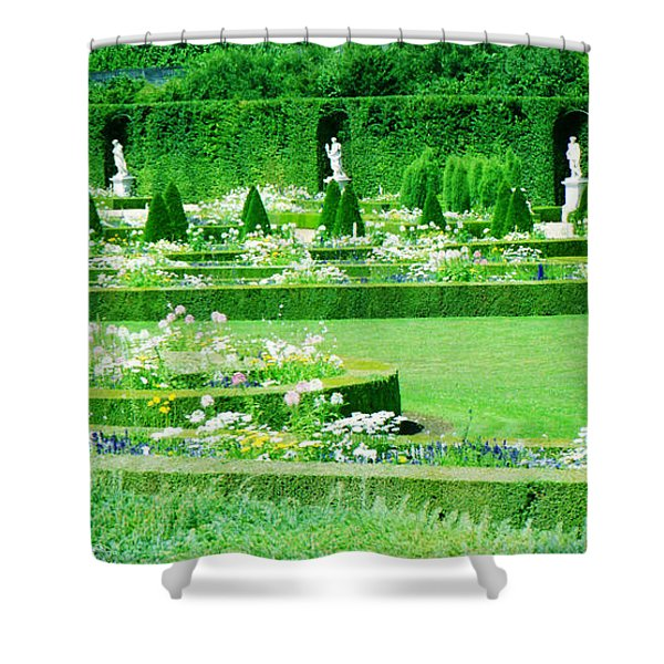Versailles Pathways Shower Curtain