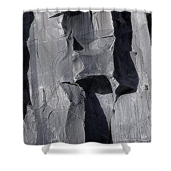 Vertical Trails Shower Curtain
