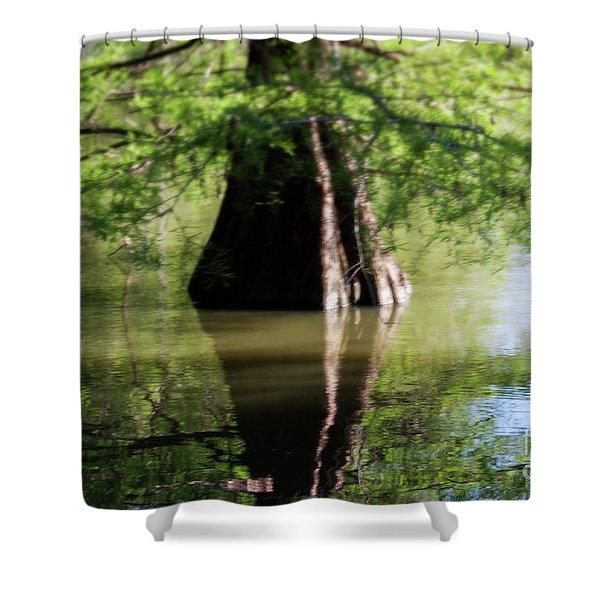 Vertices Shower Curtain