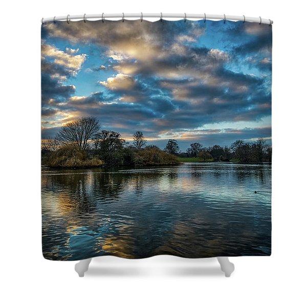 Verulamium Park Shower Curtain
