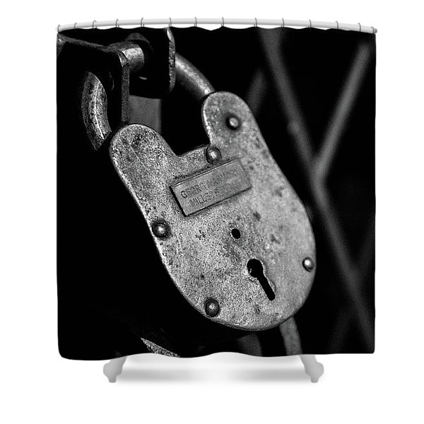 Very Secure Shower Curtain
