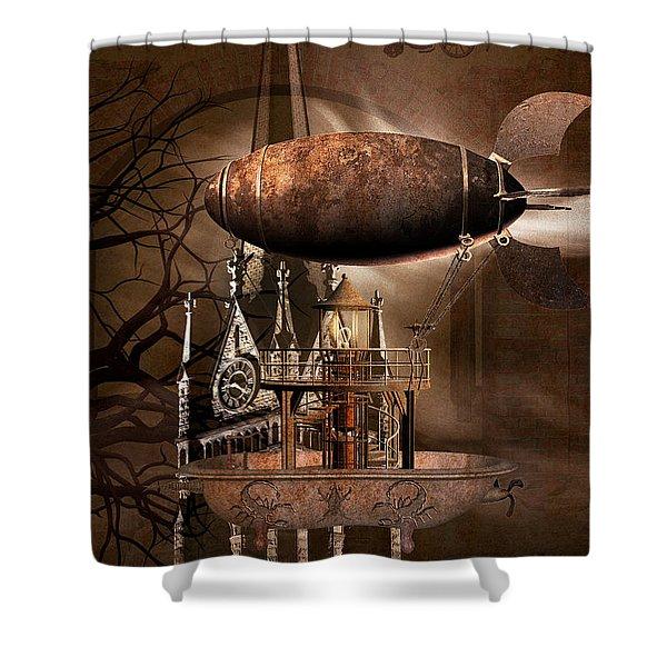 Vespers Shower Curtain