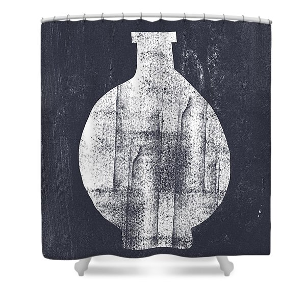 Vessel 1- Art By Linda Woods Shower Curtain