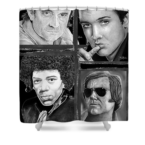Veteran Musicians Shower Curtain