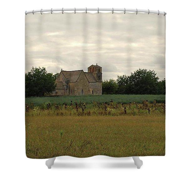 Vezac Church 1300 Shower Curtain