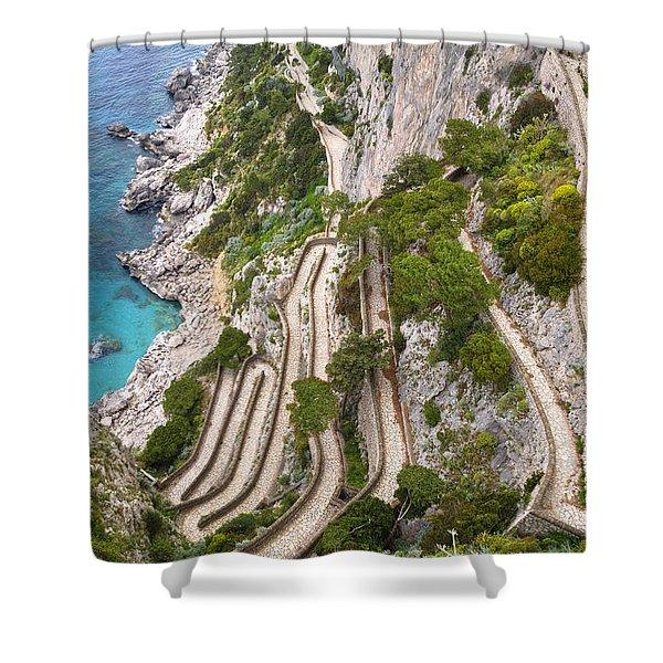 Via Krupp - Capri Shower Curtain