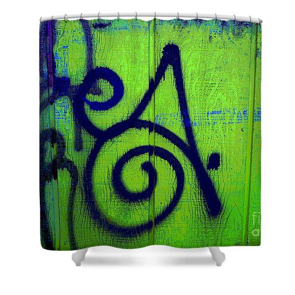 Vibrant City Shower Curtain