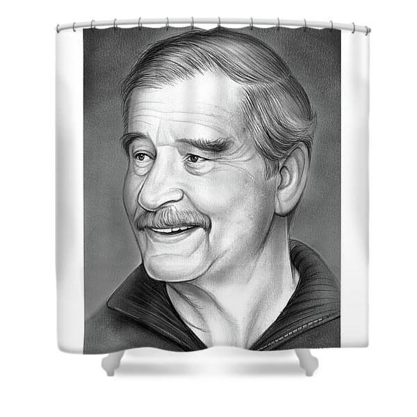 Vicente Fox Shower Curtain