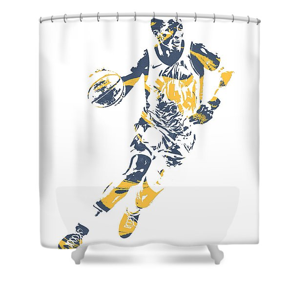 Victor Oladipo Indiana Pacers Pixel Art 30 Shower Curtain