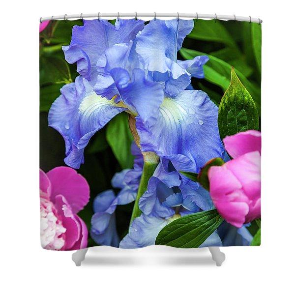 Victoria Falls Iris Shower Curtain